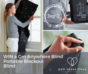 Gro Anywhere Blind, blackout blind
