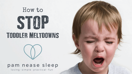 How to Stop Toddler Meltdowns Blog, Pam Nease Sleep Consultant