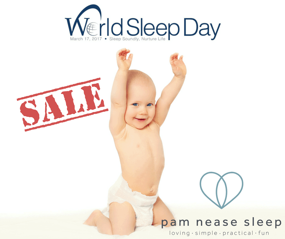 World Sleep Day sale, Pam Nease Sleep Consultant