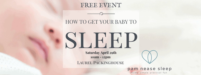 How to get your baby to sleep, Pam Nease Sleep consultants