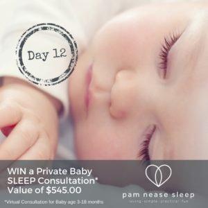 Baby sleep giveaway, Pam Nease Sleep