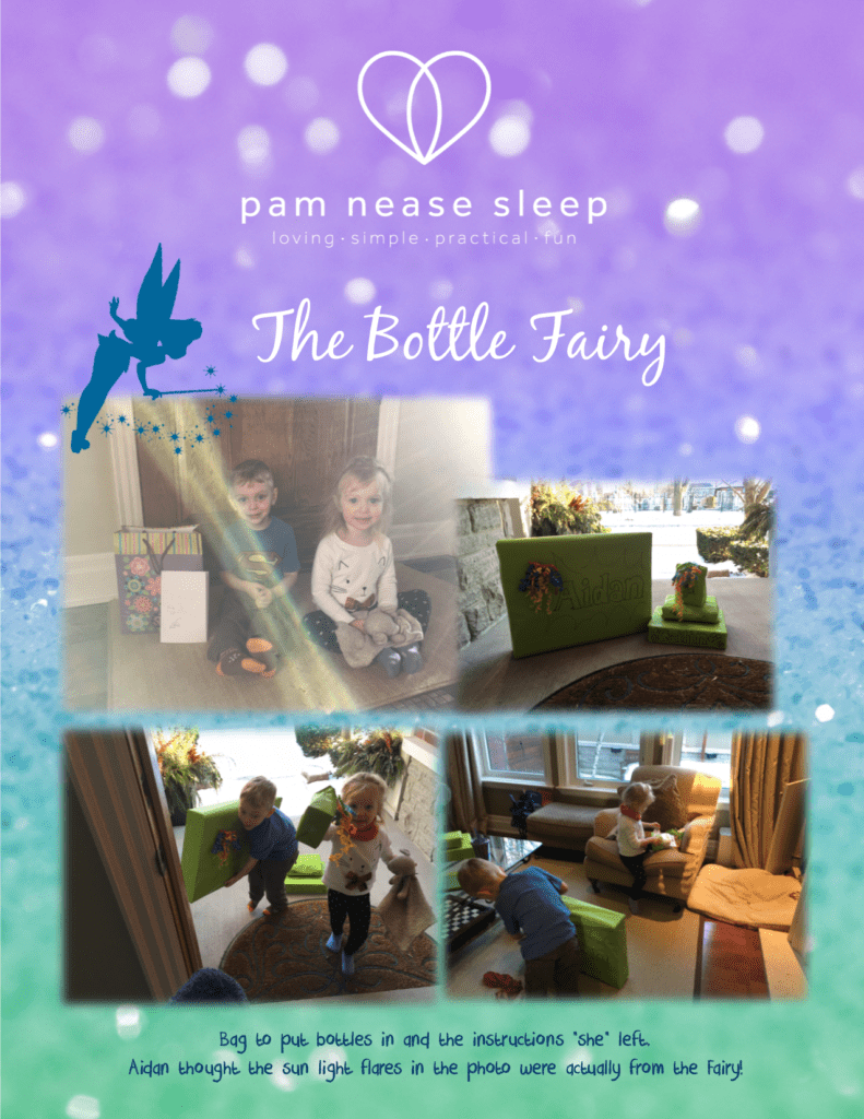 Bottle Fairy clients, Pam Nease Sleep